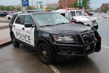 Summa Health Police Ford Interceptor Utility - image gratuit #443783
