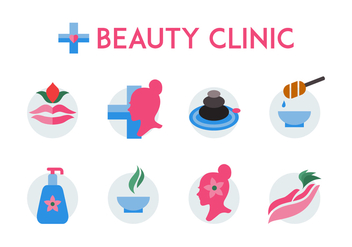 Free Beauty Clinic Icon - Free vector #443973