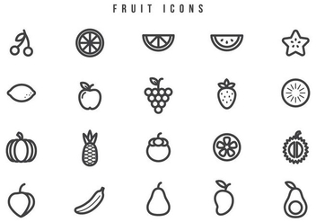 Free Fruit Vectors - Free vector #444523