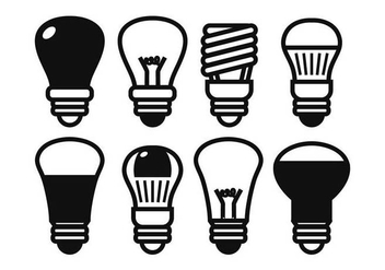 LED lights vector set - Free vector #444953