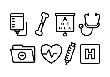 Medical Icon Pack - Free vector #445053