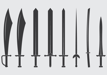 Swords Icon - Free vector #445073