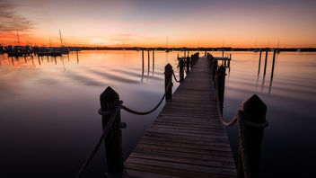 Key Largo at sunset time - Florida, United States - Travel photography - image gratuit #445133