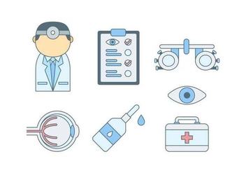 Free Outstanding Eye Test Vectors - vector gratuit #445233