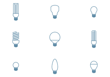 Bulb Icons - Kostenloses vector #445403