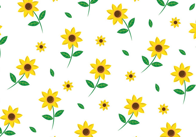Floral Seamless Pattern - vector gratuit #445633