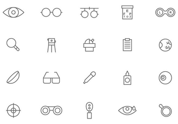 Free Optometry Vectors - Free vector #445853