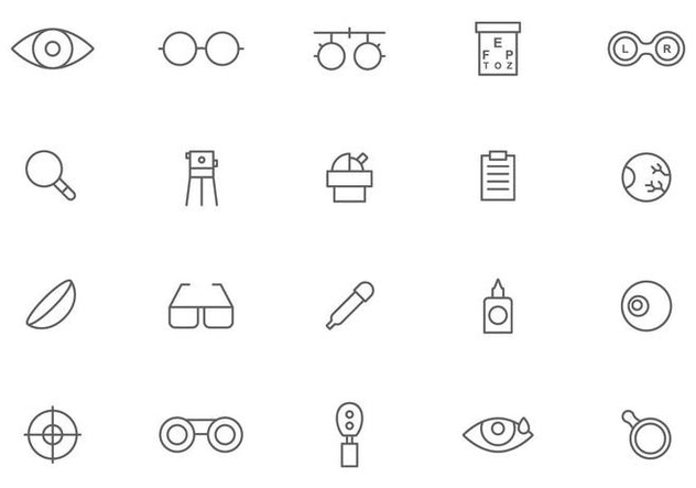 Free Optometry Vectors - vector gratuit #445853