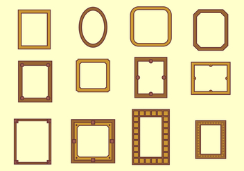 Photo Frame Vector - vector #445983 gratis