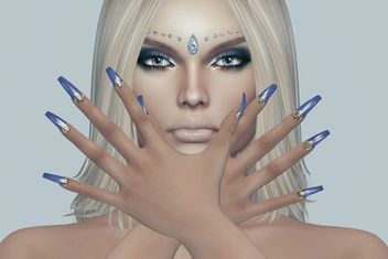Leia Mesh Nails by SlackGirl @ Designer Circle - Free image #446603