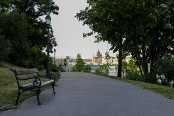 Hungarian parliament from Buda Castle Park - Free image #446613