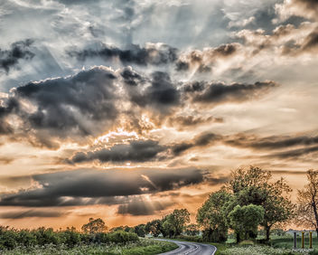 Sunset Road! - Free image #446643