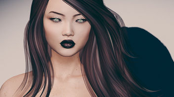 Psionic Eyes by theSkinnery @ Blush & Dune Brows by theSkinnery @ Enchantment - Free image #447873