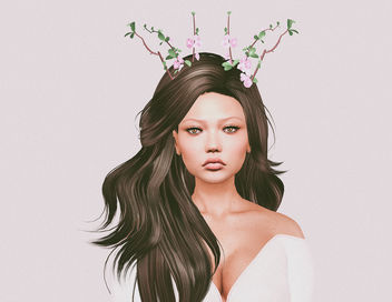 Branches Headpiece by Avie @ Kawaii Project - бесплатный image #448423