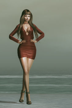 Dress Elle by Lybra @ Fameshed - Kostenloses image #448453