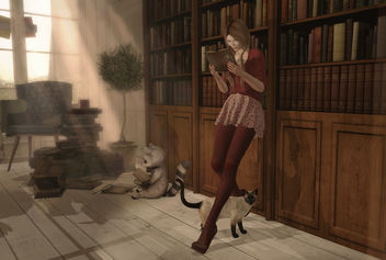 Style - Books Are A Uniquely Portable Magic - Kostenloses image #448493