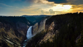 Upper Yellowstone Falls - Free image #448523