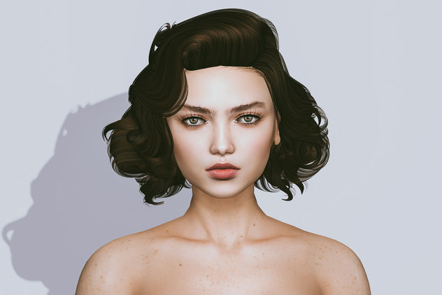 Skin Karen (Catwa Applier) by theSkinnery @ Ultra (starts september 15th) & Hairstyle Charlene by Iconic @ Tres chic (starts september 17th) - Kostenloses image #448553