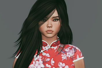 Kumiko Bento Mesh Head by Akeruka (group gift from 20 September to 4 October and will be sold at the normal price) - Kostenloses image #448743