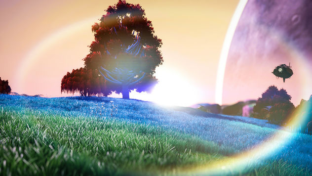 No Man's Sky / Staring Into The Sun - Kostenloses image #450383
