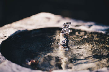 Small water fountain, close up - Free image #450993