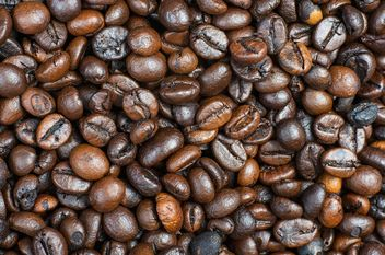 Coffee beans background - Free image #451933