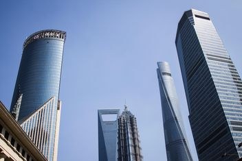 Skyscrapers in Shanghai, China - Kostenloses image #452283