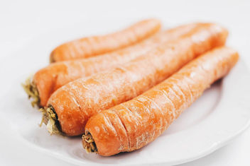 Close up of carrots. Healthy eating . - Free image #452773