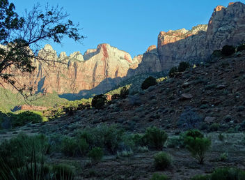 Canyon Sunrise, Zion NP 2014 - Free image #453053