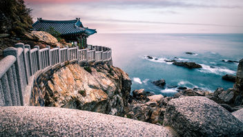Hongryeonam Temple - South Korea - Seascape photography - бесплатный image #453253