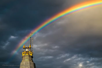 Rainbow and Lighthouse - бесплатный image #454243