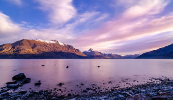 Sunset in Queenstown New Zealand - бесплатный image #455483