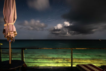 Night on the ocean - Maldives - Seascape photography - Free image #455733