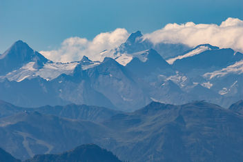 The highest peak of Austrian alps, Grossglockner - бесплатный image #455773
