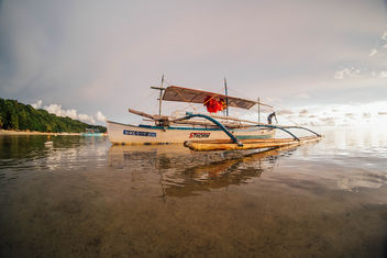 A Pumpboat used for Island Hopping in Sipalay - image gratuit #456733