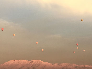 Hot air balloons- Luxor, Egypt - image gratuit #458523