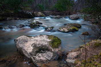 Rapids Along the Hawlings River - Free image #459913