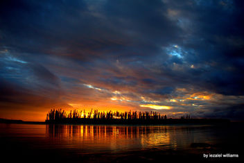 Sunset by iezalel williams - Isle of Pines in New Caledonia - IMG_3355 - Canon EOS 700D - Kostenloses image #461433