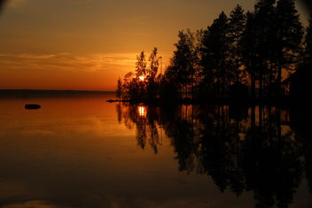 Thye orange sunset - Free image #461633