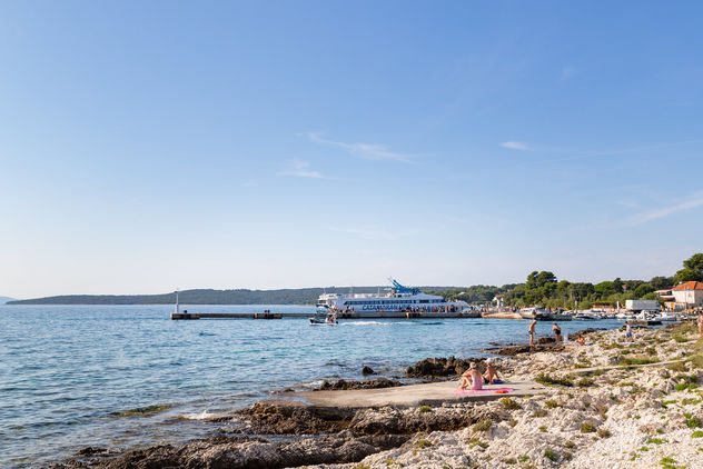 Zalic harbour on the south-west coast of Silba, Croatia - Kostenloses image #463493