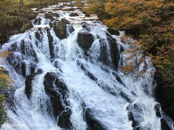 Swallow Falls, Snowdonia National Park, Betws-y-Coed - бесплатный image #465683