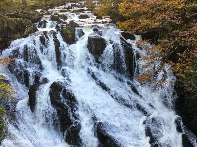 Swallow Falls, Snowdonia National Park, Betws-y-Coed - Free image #465683