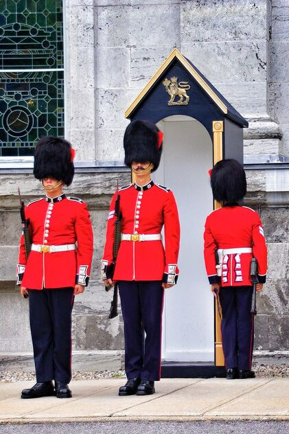 Ottawa Ontario Canada ~ Changing of The Guard ~ Rideau Hall - Kostenloses image #470413