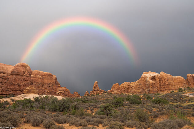 Arches National Park - Skittles Rainbow - image #473163 gratis